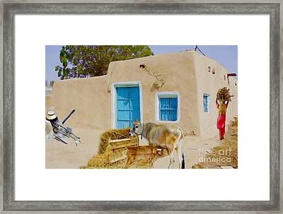 Rural Life  Framed Print