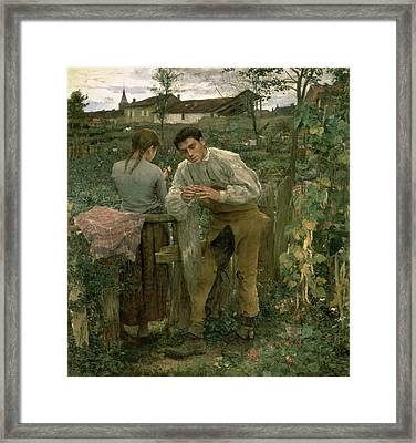 Rural Love Framed Print