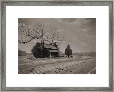 Rural Nc Framed Print