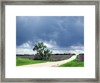 Rural Nebraska Framed Print by Tyler Robbins