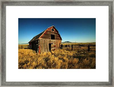 Rural Noir Framed Print