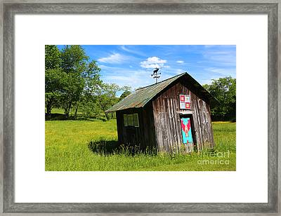 Rural Panache Framed Print by Marty Fancy