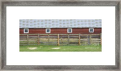 Rural Patterns Framed Print by Idaho Scenic Images Linda Lantzy