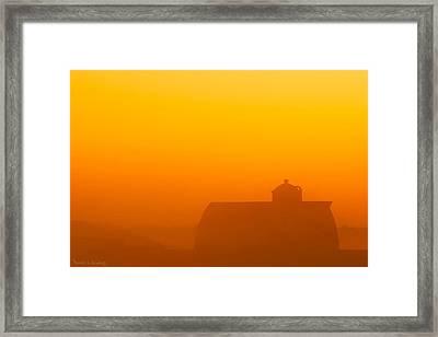 Rural Radiance Framed Print by Todd Klassy