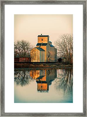 Rural Reflections Framed Print by Todd Klassy