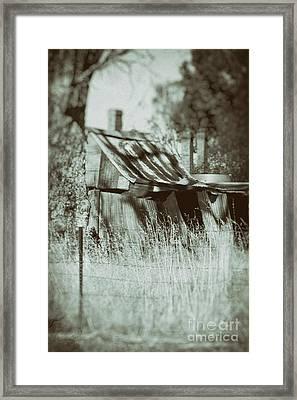 Rural Reminiscence Framed Print