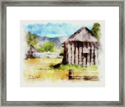 Rural Remnants Framed Print