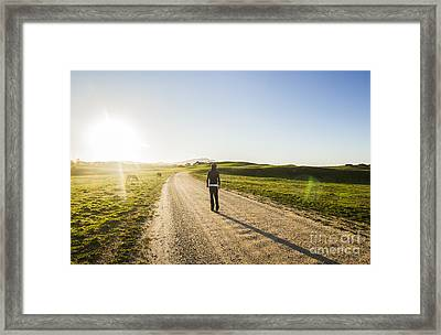 Rural Road Traveller Framed Print by Jorgo Photography - Wall Art Gallery