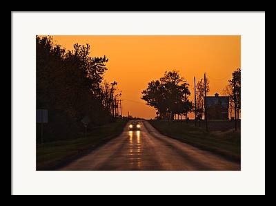 Central Illinois Framed Prints