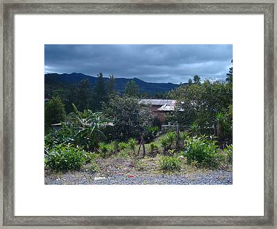 Rural Scenery 1 Framed Print