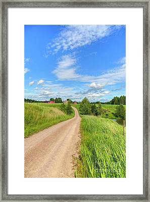 Rural Scenery Framed Print by Veikko Suikkanen