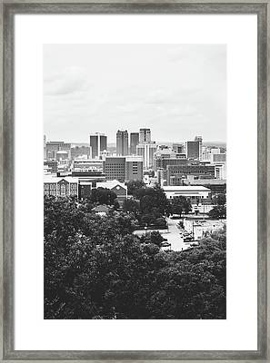 Framed Print featuring the photograph Rural Scenes In The Magic City by Shelby Young