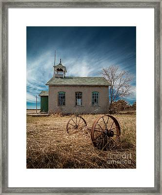 Rural School Framed Print