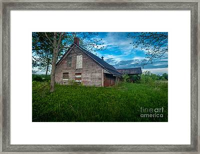 Rural Slaughterhouse Framed Print