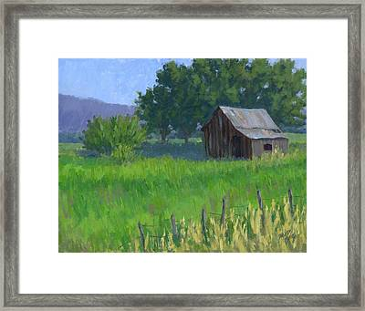 Rural Spring Framed Print