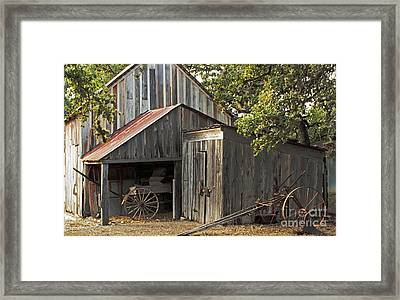 Rural Texas Framed Print