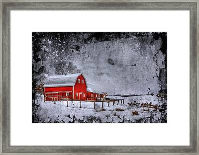 Rural Textures Framed Print