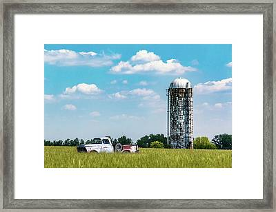 Rural Framed Print by Tom Mc Nemar