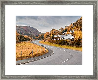 Rural Wales In Autumn Framed Print