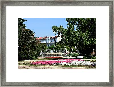 Ruse Bulgaria Framed Print by Sally Weigand