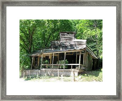 Rush General Store Framed Print by CGHepburn Scenic Photos