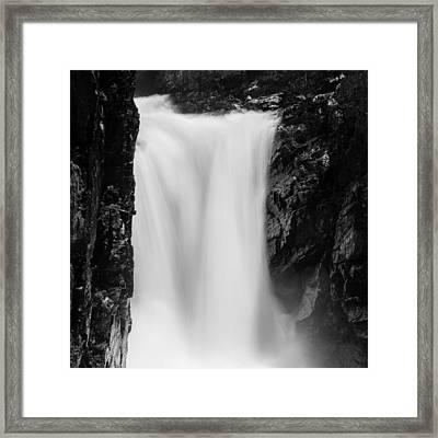 Rush Framed Print by Hudson Marsh