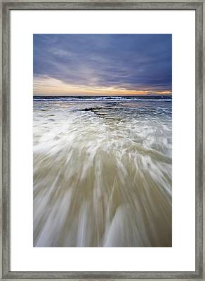 Rush Framed Print by Mike  Dawson