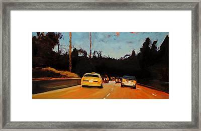 Rush Framed Print by Richard  Willson