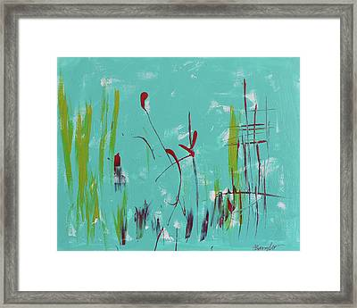 Rushes And Reeds Framed Print