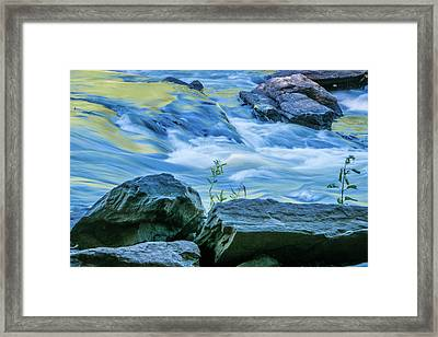 Rushing Creek Framed Print