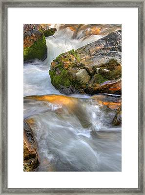 Rushing Water 2 Framed Print by Douglas Pulsipher