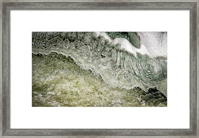 Rushing Water Framed Print