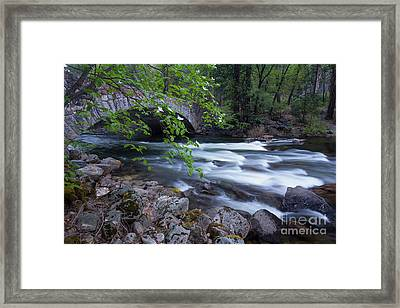 Rushing Water Framed Print