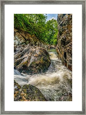 Rushing Waters  Framed Print