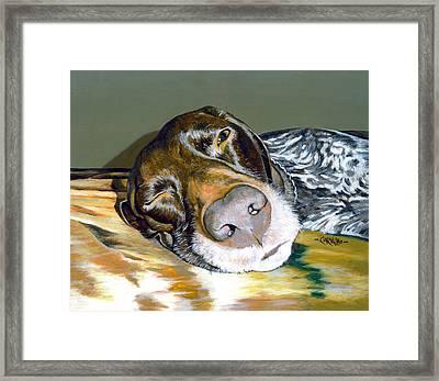 Russell Framed Print