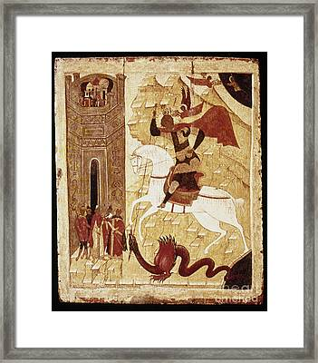 Russia: Icon Framed Print by Granger
