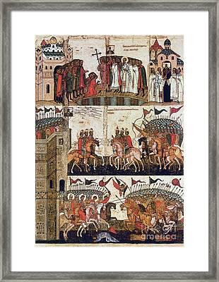 Russia: Novgorod Framed Print by Granger