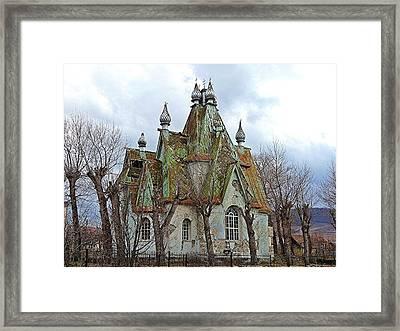 Russian Armenian Haunted House Framed Print
