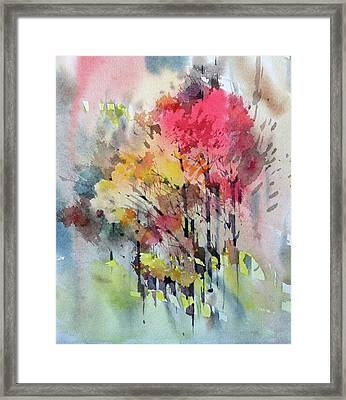 Russian Autumn Framed Print