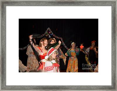 Framed Print featuring the photograph Russian Choir Performing by Yurix Sardinelly