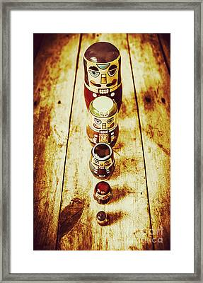 Russian Doll Art Framed Print by Jorgo Photography - Wall Art Gallery
