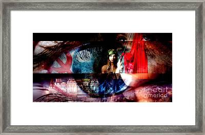Russian Girl Framed Print by John Rizzuto