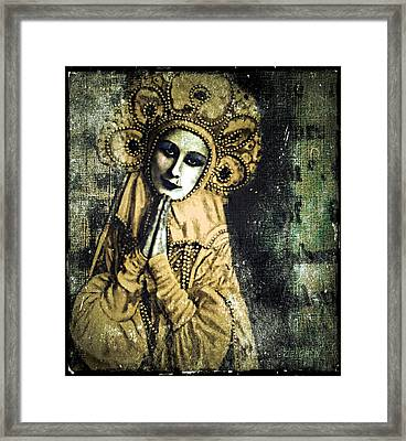 Framed Print featuring the digital art Russian Icon by Delight Worthyn