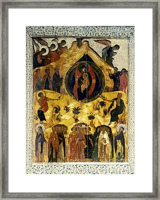 Russian Icon Framed Print by Granger