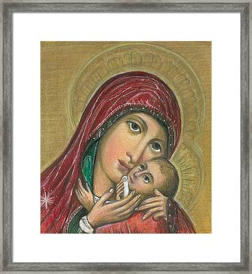 Russian Icon  Framed Print