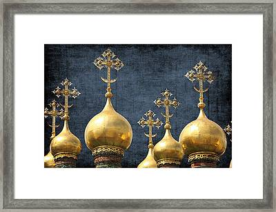 Russian Icons Framed Print