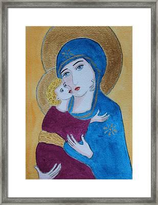 Russian Madonna Framed Print