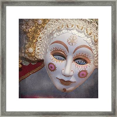 Russian Mask 4 Framed Print by Jeff Burgess