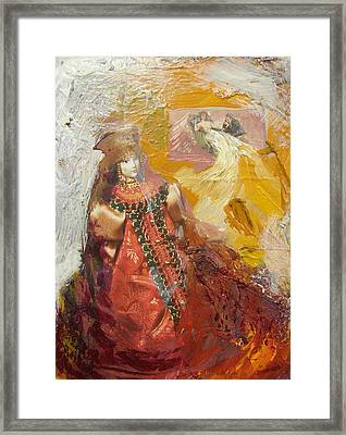 Russian Memories N1 Framed Print