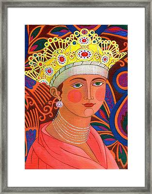 Russian Princess Framed Print